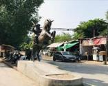 Pakistan'da Ertuğrul Gazi heykeli dikildi