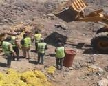 Sağlığa zararlı 25 ton patates yakılarak imha edildi