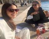 Ceylan Çapa'nın sosyetik yer sofrası pozu sosyal medyayı salladı