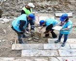 İzmir'de altyapı kazısından tarih çıktı: 300 yıllık bedesten bulundu