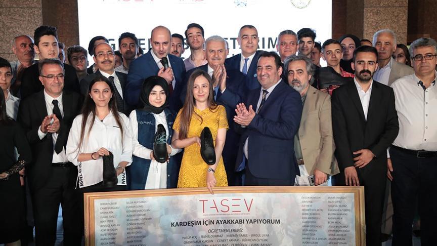 Binali Yıldırım, İstanbul Halk Ulaşım A.Ş.'nin iftarına katıldı