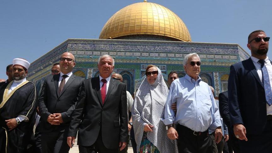 İşgalci İsrail polisi Filistinli Bakanı gözaltına aldı