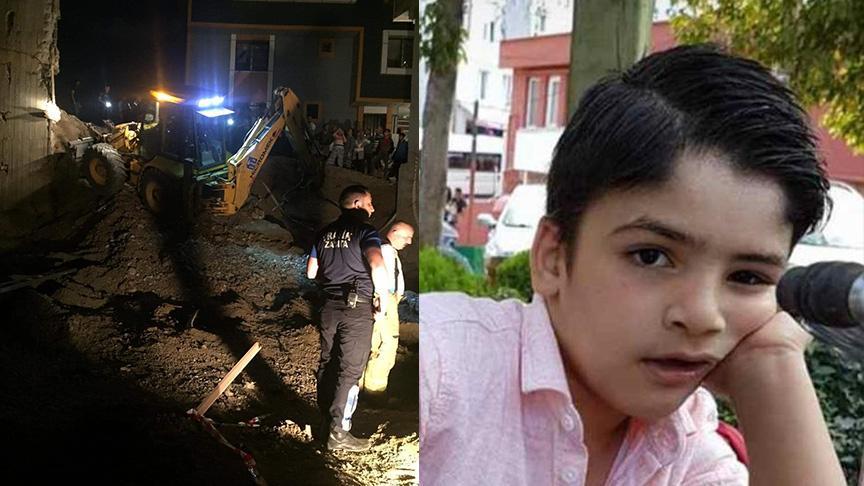 Eyüpsultan'da inşaat çukuruna düşen çocuk hayatını kaybetti
