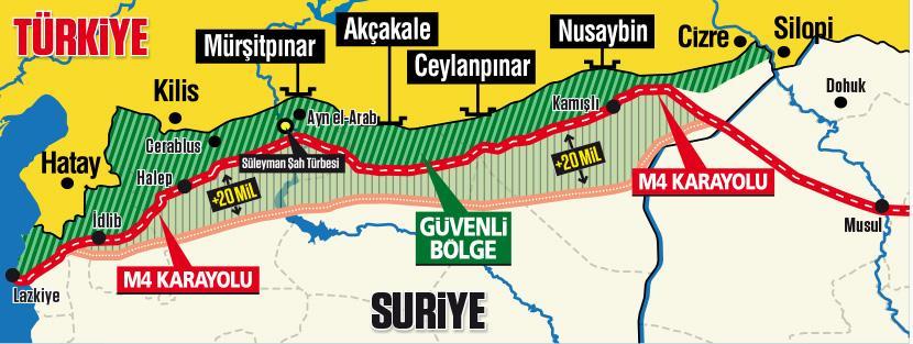 Politika Uzmanı Erim: M4 karayolu Türkiye'nin kontrolüne girerse ...
