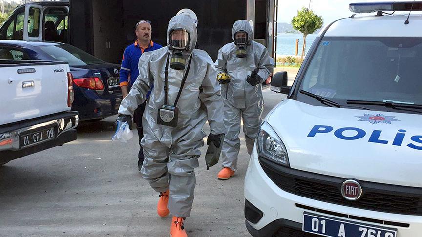 Adana'da kaliforniyum olduğu iddia edilen madde ele geçirildi