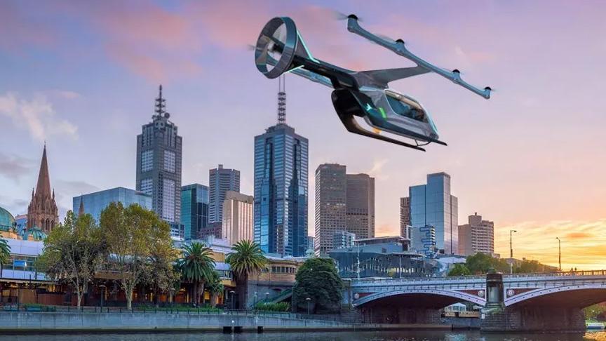 Uber'in 'uçan taksi' hizmeti Melbourne, Dallas ve Los Angeles'te başlayacak