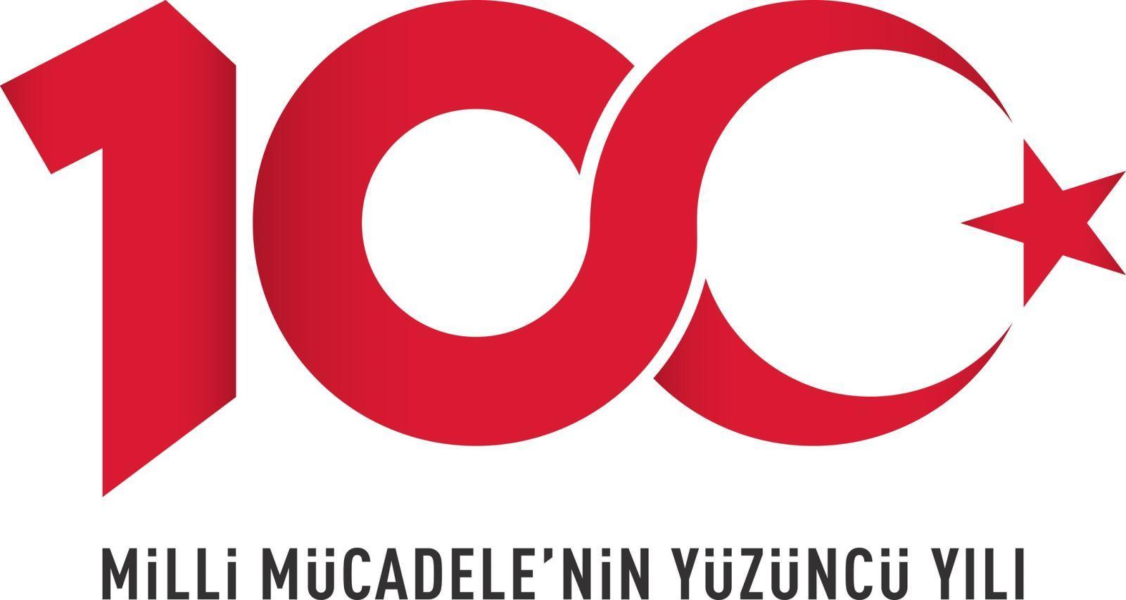 100. yılı logosu