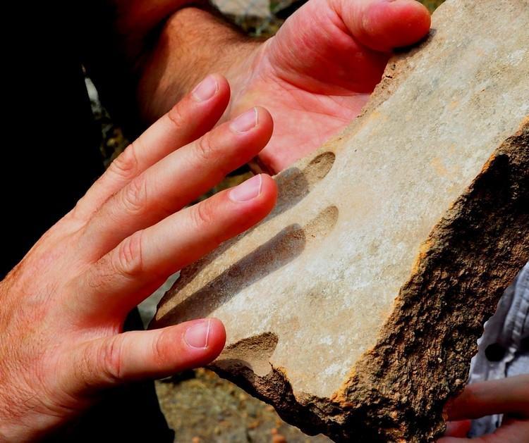 Manisa Aigai Antik Kenti'nde 1800 yıllık parmak izi bulundu