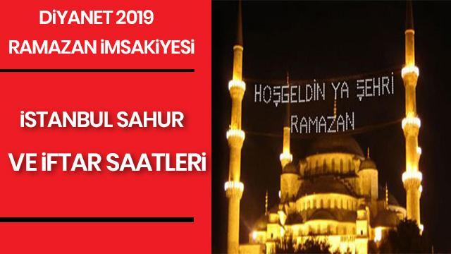 Istanbul Iftar Sahur Ve Imsak Vakti Saat Kacta Okunacak 6