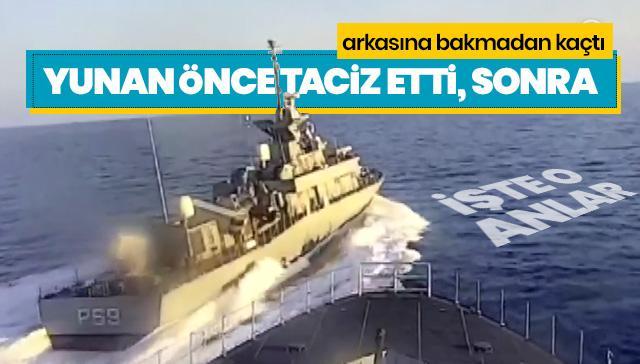 Denizkurdu-2019 tatbikatına Yunan tacizi
