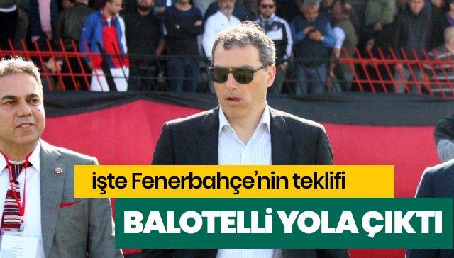 İşte Fenerbahçe'nin Balotelli teklifi