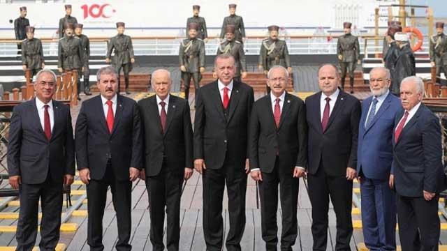 Başkan Erdoğan'dan anlamlı paylaşım: Türkiye'yi daha ileriye taşıyalım
