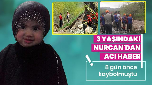 8 gün önce kaybolan Nurcan'ın cansız bedenine ulaşıldı