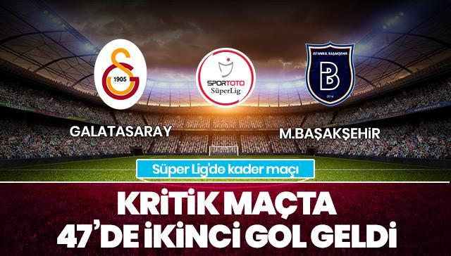 Galatasaray-Medipol Başakşehir / CANLI ANLATIM