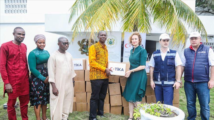 TİKA'dan Ganalı Müslümanlara ramazan yardımı