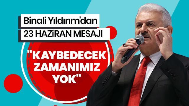 """""""İstanbul'da daha fazla kaybedecek zamanımız yok"""""""