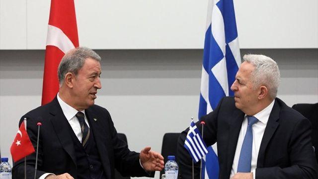 Türkiye ve Yunanistan Savunma Bakanlıkları Atina'da görüşecek