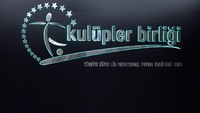 Kulüpler Birliği Galatasaray'ın şampiyonluğunu tebrik etti