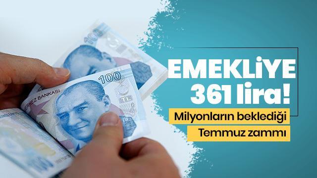 Emekliye 361 lira! SSK ve Bağ-Kur emeklisinin beklediği haber!