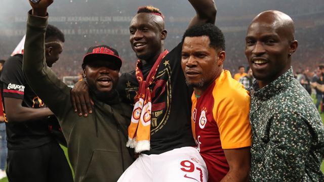 Mbaye Diagne: Hem kupayı aldık, hem de şampiyon olduk, hem de gol kralıyım