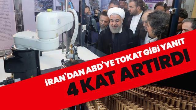 İran 4 kat artırdı