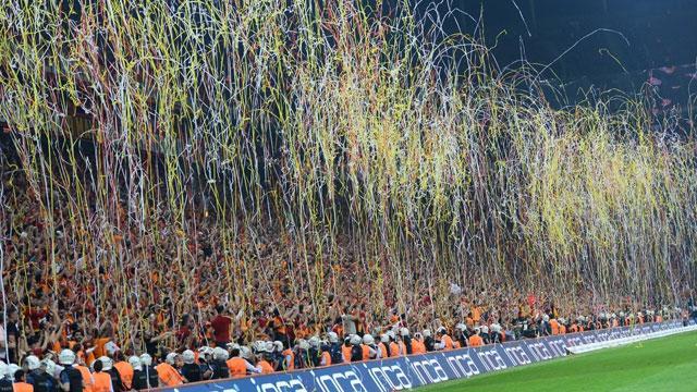 Galatasaray'ın ligdeki taraftar ortalaması da 36 bin 21 oldu