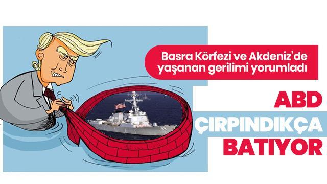 ABD, Basra ve Akdeniz'de çırpındıkça batıyor