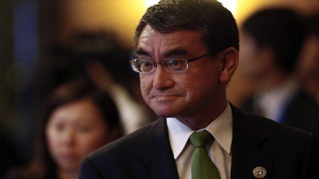 """Japon bakandan ilginç """"pastırma"""" mesajı"""