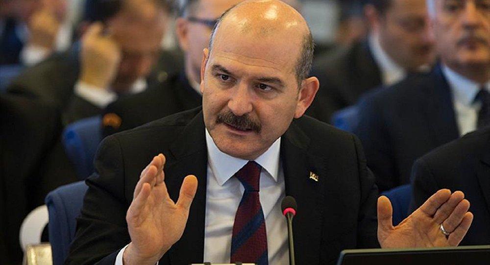Bakan Soylu: Hain PKK ile ilgili ne varsa tek tek temizliyoruz
