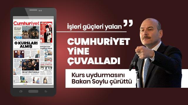 """""""Cumhuriyet Gazetesi, bir yalanın daha altına imza attı"""""""