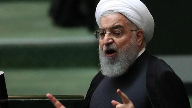 İran Cumhurbaşkanı Ruhani:  Beyaz Saray Pentagon'un baskısıyla İran'dan özür diliyor