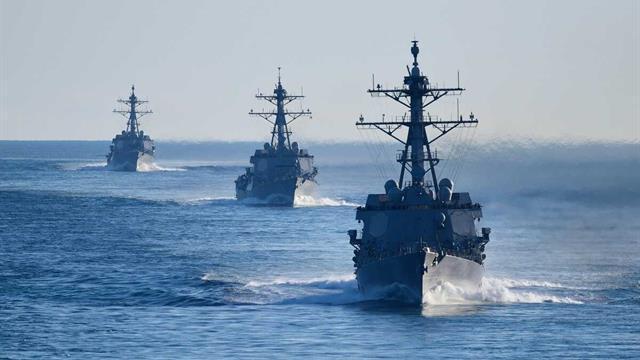 ABD'yi geride bıraktı ve dünyanın en büyük donanması haline geldi