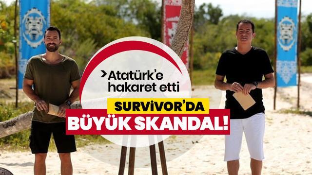 Survivor yarışmasında büyük skandal!