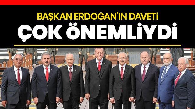 Mustafa Destici: Başkan Erdoğan'ın daveti çok önemliydi