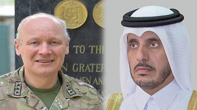 Katarlı ve İngiliz yetkililer bölgesel gelişmeleri görüştü