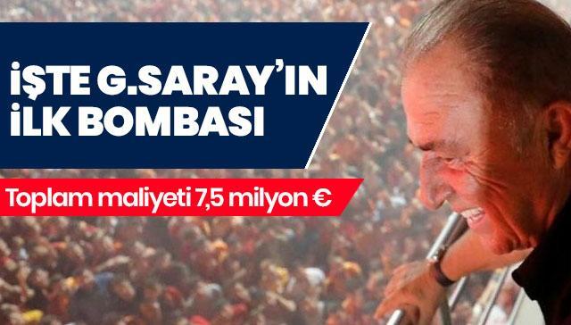 İşte Galatasaray'ın transferde ilk bombası! 7,5 milyon euro...
