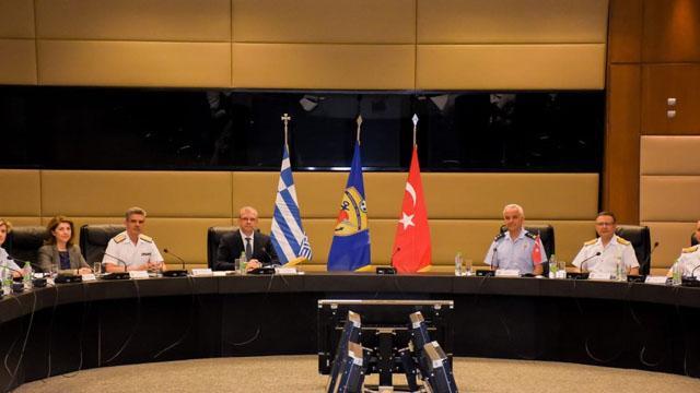MSB: Türkiye ve Yunanistan arasındaki toplantılar Atina'da devam ediyor