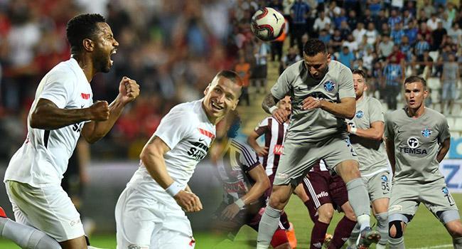 Spor Toto 1. Lig play-off turunda ilk maçlar tamamlandı