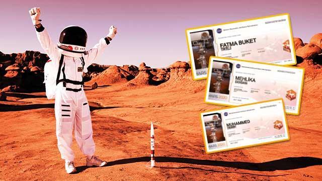 Mars'a Türk çıkarması