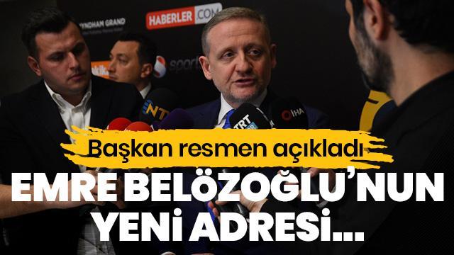 SON DAKİKA! Başkan Emre Belözoğlu'nun yeni takımını açıkladı