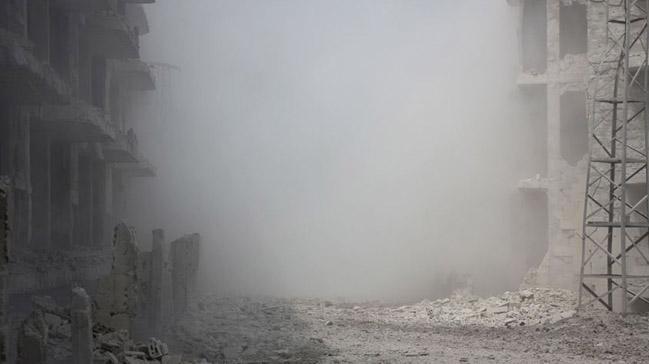 Suriye'de katil Esed rejimine ait savaş uçaklarının İdlib'i vurması sonucu en az 6 sivil öldü