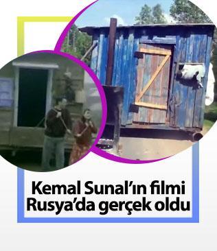 Kemal Sunal'ın filmi Rusya'da gerçek oldu