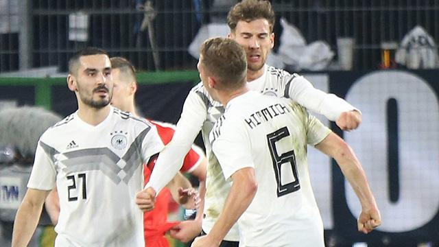 Almanya'nın Belarus ve Estonya kadrosu açıklandı