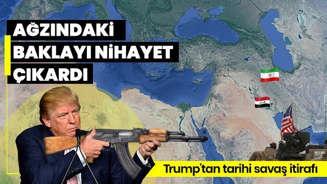 Trump'tan itiraf: Silah baronları savaş istiyor