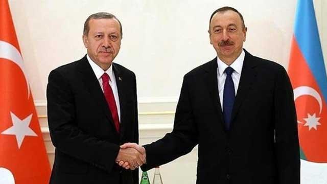 Başkan Erdoğan'dan Aliyev'e kutlama mesajı