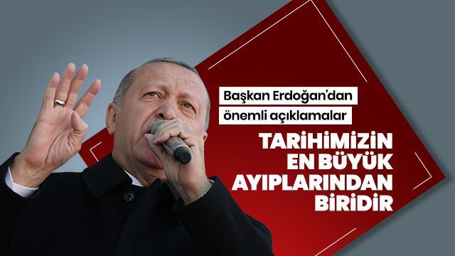 Başkan Erdoğan, Fuat Sezgin Yılı Toplantısı'nda konuşuyor