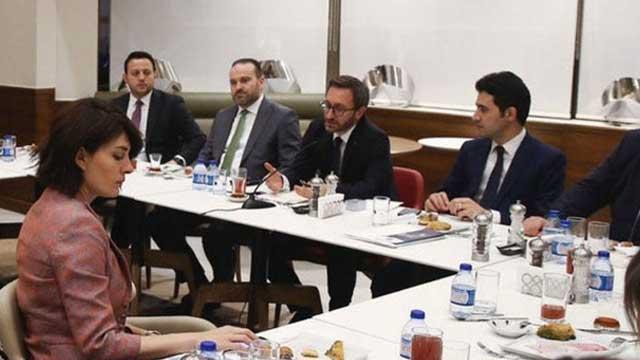 Altun, Cumhurbaşkanlığı muhabirleriyle iftarda buluştu
