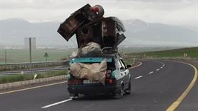 Otomobil değil sanki kamyonet, görenler hayrete düştü