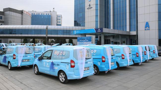 Mobil İSKİ ile 300 bin İstanbullu şubeye gitmeden işini halletti!