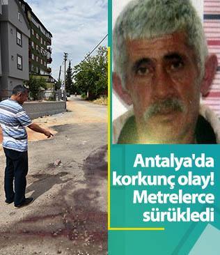 Antalya'da bir kişi öldürdüğü arkadaşının cesedini kanala atarken yakalandı